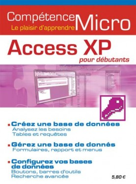 Booklet's front page - Access XP