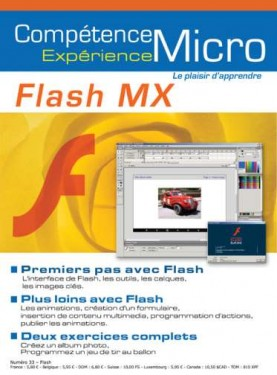Booklet's front page - Flash MX