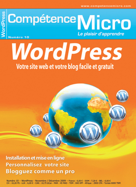 Booklet's front page - Wordpress