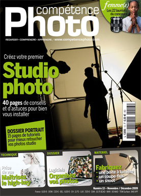 Booklet's front page - Compétence Photo 13 : Studio Photo