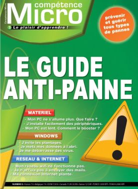 Booklet's front page - Le guide anti-panne