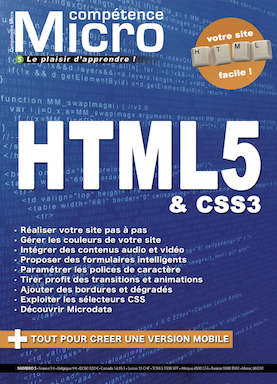 Booklet's front page - HTML5 & CSS3