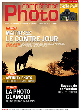 Booklet's front page - Compétence Photo 61 : Le contre-jour • La photo glamour • Affinity Photo