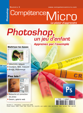 Booklet's front page - Photoshop, un jeu d'enfant